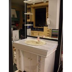 Mueble Baño Lacado Blanco