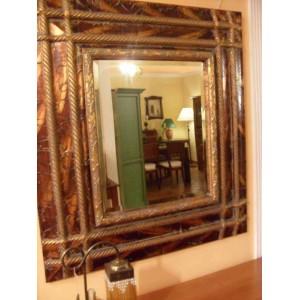 Espejo Gran Marco Tallado