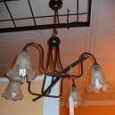 Lámpara Cristal Rizado